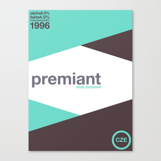 premiant single hop Canvas Print