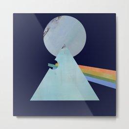 The Moon's Dark Side, prism, rainbow Metal Print