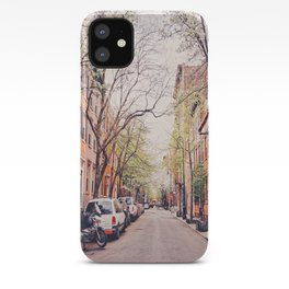 New York City - Springtime in the West Village iPhone Case