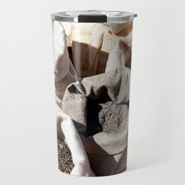 Exotic Indian Spices In Small Canvas Sacks Travel Mug