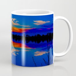 North light over a lake Coffee Mug