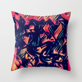 """Le courant qui nous mène"" Throw Pillow"