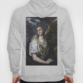 El Greco -  Mary Magdalen in Penitence Hoody