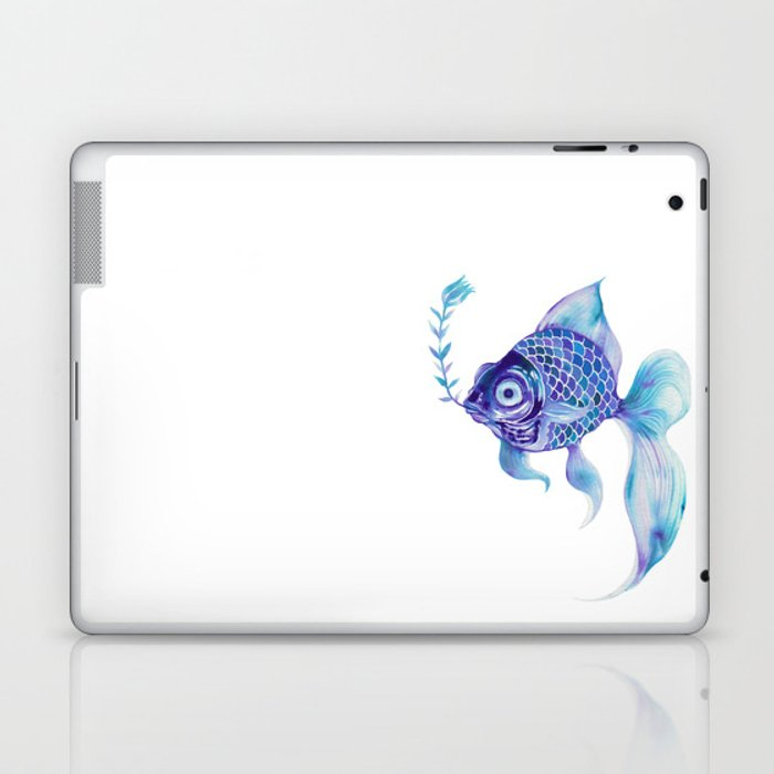 Baby Blue #5 Laptop & iPad Skin
