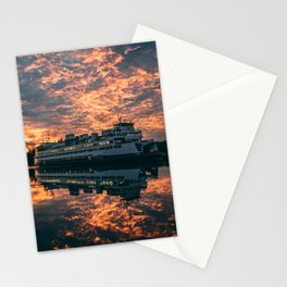 Friday Harbor Ferry Stationery Cards
