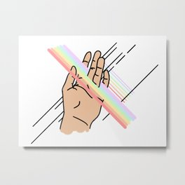 Touch Pt. 3 Metal Print
