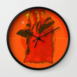 pathetic fools there is no escape Wall Clock