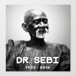 Dr. Sebi Canvas Print