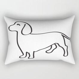 Doxie Love Rectangular Pillow