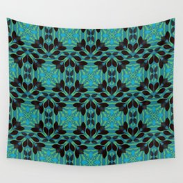 Leaf pattern 1a Wall Tapestry
