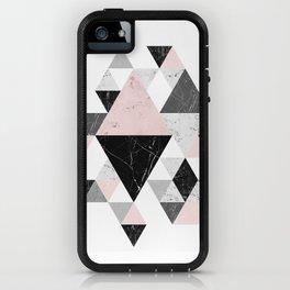 Abstract Geometri iPhone Case