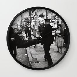 John Lewis Being Arrested After A Sit In,60s Wall Clock
