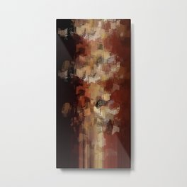 Earthly Eruption Metal Print