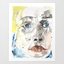 In My Mind Art Print