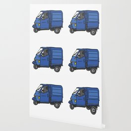 Tricycle Van Threewheeler Transporter Wallpaper