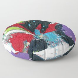 Tic Modern Painting Floor Pillow
