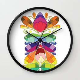 Kurbits Wall Clock