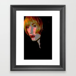 Sassoon Crop Framed Art Print