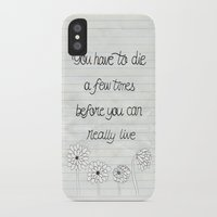 bukowski iPhone & iPod Cases featuring Bukowski by Larissa