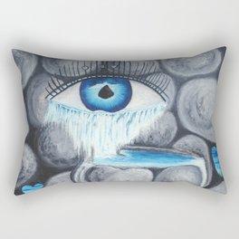 L'amour au coeur de pierre Rectangular Pillow