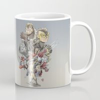 the mortal instruments Mugs featuring Mortal Enemies by Fernando Cano Zapata