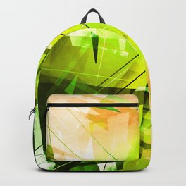 Toxic - Geometric Abstract Art Backpack