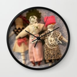 Three sisters marching Wall Clock