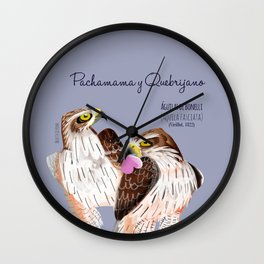 Totem Bonelli´s eagle (GREFA) #2 Wall Clock