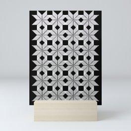 Silver Snow Mini Art Print
