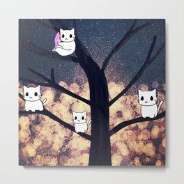 cats-454 Metal Print