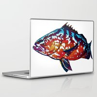 boss Laptop & iPad Skins featuring Boss by Bocese