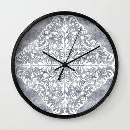 Marble Mandala Wall Clock