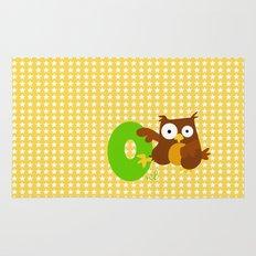 o for owl Rug