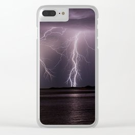 Lightning Show Clear iPhone Case