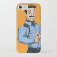 oitnb iPhone & iPod Cases featuring Daya, Bennet, & Pornstache OITNB by StephDere