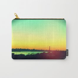 sunset in NYC Carry-All Pouch