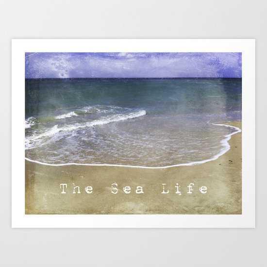 The Sea Life Art Print