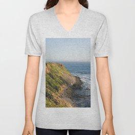 Point Vicente - California Coast Unisex V-Neck