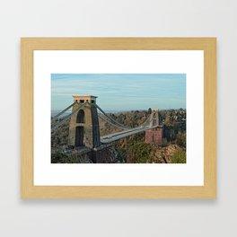 Clifton Suspension Bridge Framed Art Print