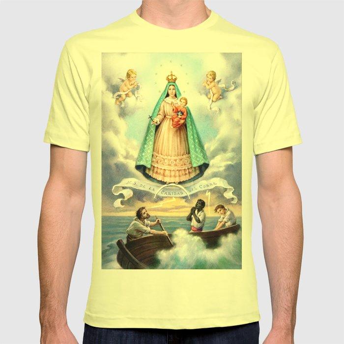 Virgen de N S  de La Caridad del Cobre (Patrona de de la Isla de Cuba)  T-shirt