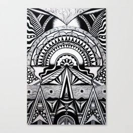 Workings of the sun  Canvas Print