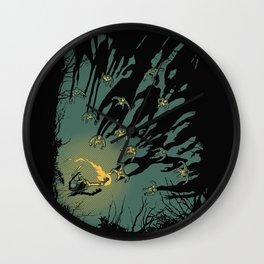Zombie Shadows Wall Clock