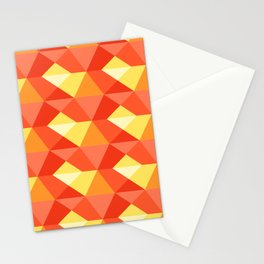 Optical Steps Pink Stationery Cards
