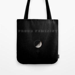 Proud Feminist Tote Bag