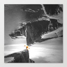 Upside Down - Surreal Fantasy Poster Canvas Print
