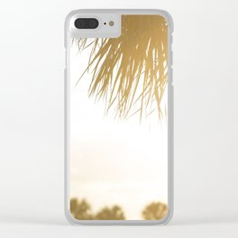 Miami Sunsets Clear iPhone Case