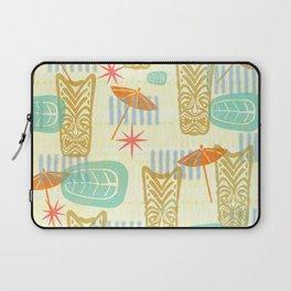 TIKI On The Beach Laptop Sleeve