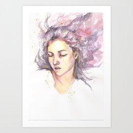 Dreaming Julie Art Print