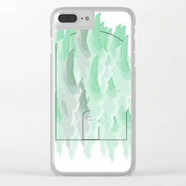 Watercolor  House Clear iPhone Case