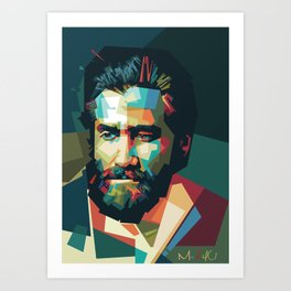 Jake Gyllenhaal - Mad4U Art Print